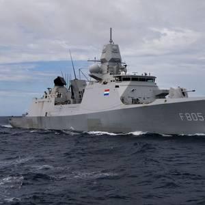 Russian Jets Harass Dutch Frigate in Black Sea