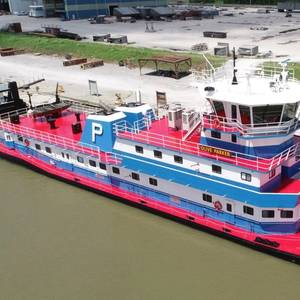 C&C Delivers New Towboat to Parker Towing