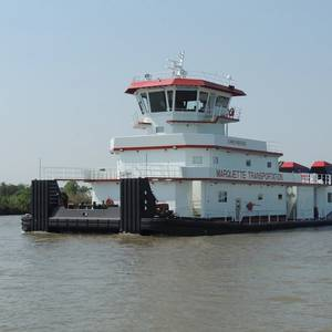 New Towboat Delivered to Marquette Transportation
