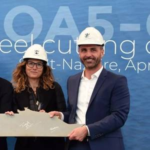 RCI Cuts Steel on Fifth Oasis Class Ship