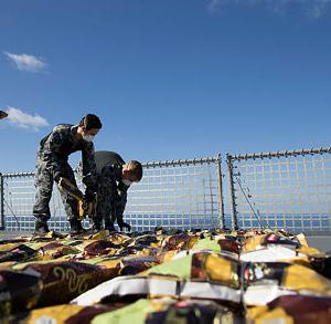 Royal Austalian Navy Seizes Illegal Drug Shipments