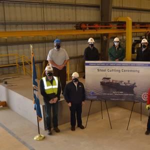 Conrad Cuts First Steel for GLDD Dredger