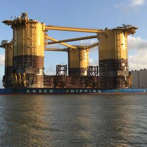 Heavy Lift: Shell's Appomattox Hull Delivered to Texas