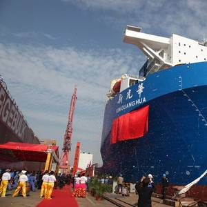98,000 dwt Semisubmersible Delivered