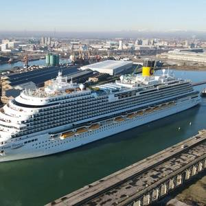 Fincantieri Delivers Costa Firenze to Costa Cruises