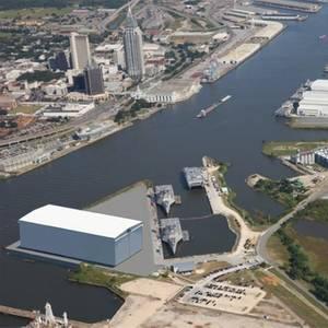Shipbuilding: Austal USA Breaks Ground on Steel Manufacturing Line