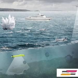 Belgium Naval & Robotics, Flanders Ship Repair Join in MCM Program