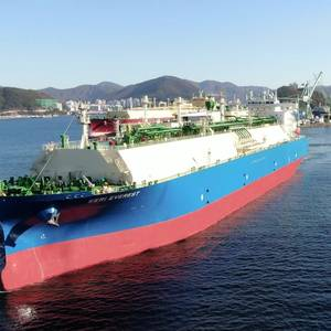 Great Ships of 2020: Seri Everest, World's Largest Ethane Carrier