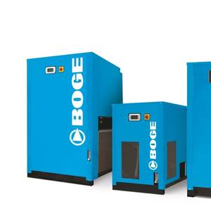 BOGE's Refrigeration Dryers and Tandem Dryers
