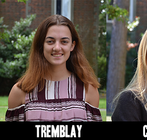 Crowley Awards Scholarships to Two Webb Students