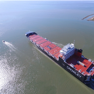 Crowley Takes Delivery of Second LNG-Powered ConRo Ship