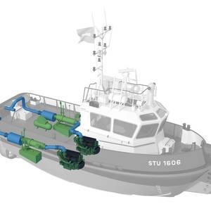 Damen to Build Eco-efficient Tug for Baleària