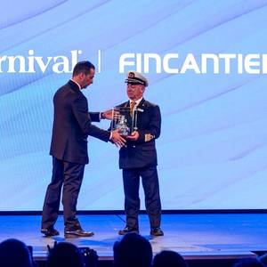 "Fincantieri Presents ""Carnival Panorama"" in Marghera"