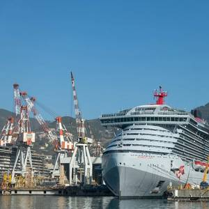 Fincantieri Delivers Virgin Voyages' Scarlet Lady