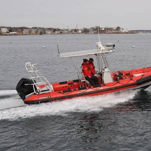 RIBCRAFT Delivers Fire Boat to the Portsmouth