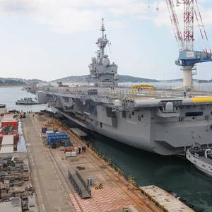 Aircraft Carrier Charles de Gaulle Refit Completed