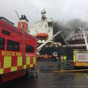 Australia's Port Kembla Reopens after Bulker Fire