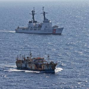 Global Fishing Watch, USCG Examine Illegal Fishing