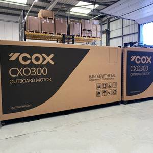 Cox Powertrain Ships Its First Diesel Outboards