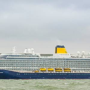 Cruise: Saga Newbuild Arrives at Home Port