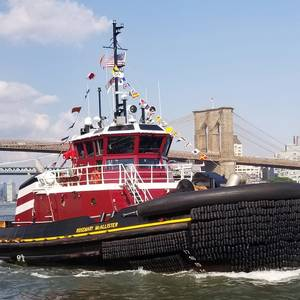 McAllister Christens Tug Pair in NYC