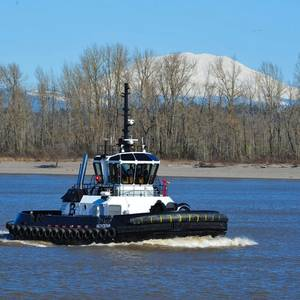 Crowley Charters Newbuild Tug from Brusco