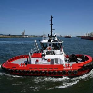 Crowley Takes Delivery of New Compact Escort Tug