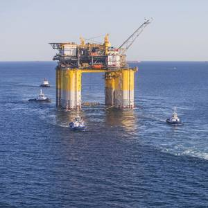 Crowley Supports Platform Tow-out, Installation in US Gulf