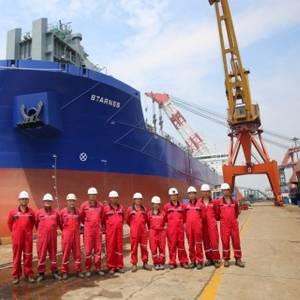 Chengxi Shipyard Delivers Self-unloader to CL-Hartmann JV
