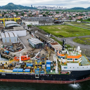 Wilson Sons Vessel Converted in Brazil