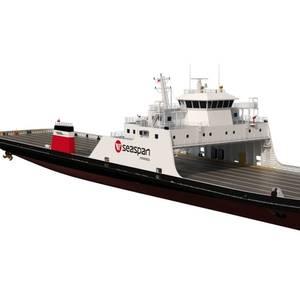 Damen to Build Seaspan LNG-Hybrid RoRo Ferries