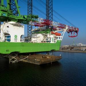 Heavy Lift Jack-up Apollo Refit Completed
