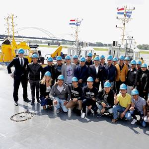 Damen Welcomes Mexican Training Vessel, Cadets