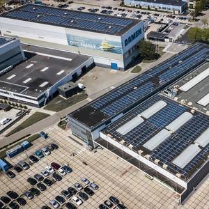 Damen Goes 'Solar' at Dutch Shipyards