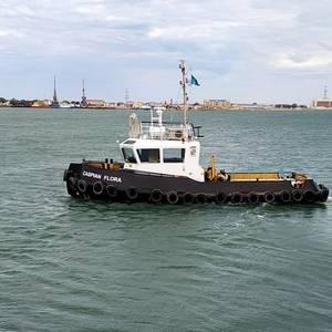 Damen Delivers Stan Tug to Caspian Offshore
