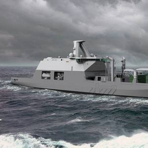 Dutch to Build Combat Support Ship