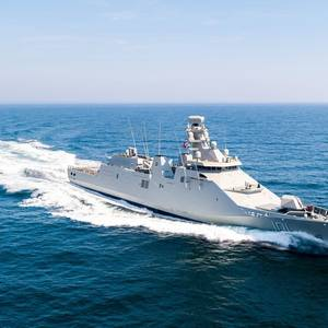 Damen Delivers Patol Boat to Mexican Navy