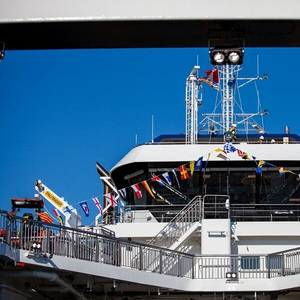 BC Ferries Names Two New Vessels