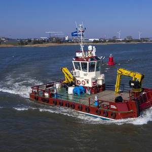 Damen Delivers Workboat to Inverlussa Marine Services