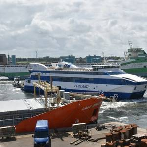 Rederij Doeksen Ferry Repaired Following Harbor Accident