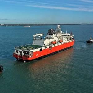 Australia's New Icebreaker Starts Sea Trials