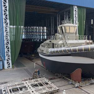 Ports of Auckland's Fully Electric Tug Launched in Vietnam