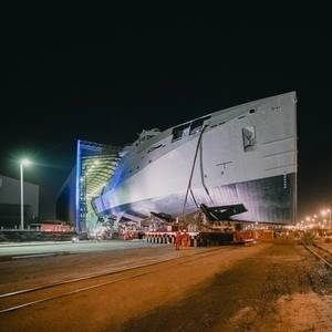 South African Navy's New Patrol Vessel Launched