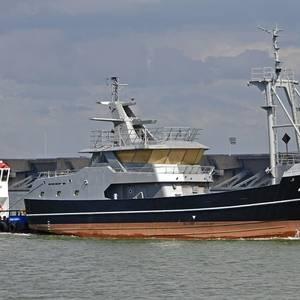 Damen Launches Trawler for Rederij Long Ships