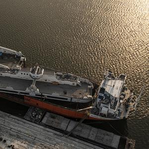 All-electric Ferries Depart Damen Shipyards Galati for Ontario, Canada