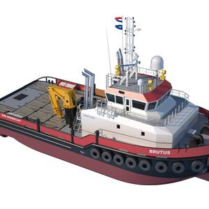 First Diesel-Electric Damen Shoalbuster Ordered