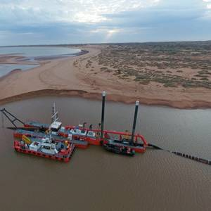 ​​​​Maritime Constructions Receives Damen Dredger, Multi Cat