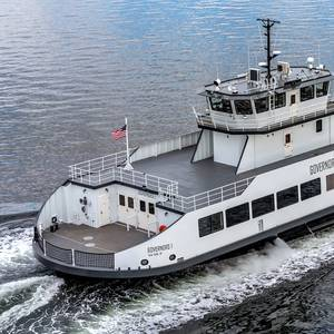 Delta 'T' Equips Governors Island Ferry