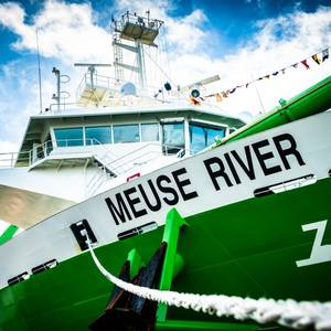DEME Holds Naming Ceremony for Two New Dredgers