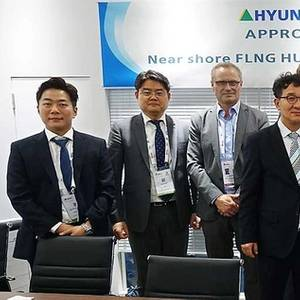 DNV GL Grants AiP for Hyundai's FLNG Barge